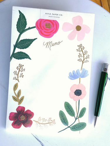 Rifle Memo Notepad- Wildflowers    NPB002