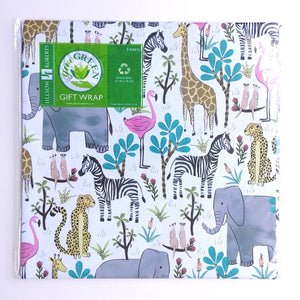 Wrapping Paper- Jungle Safari