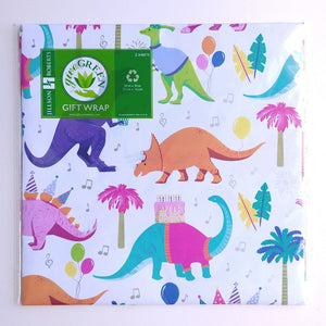 Wrapping Paper- Dino Party