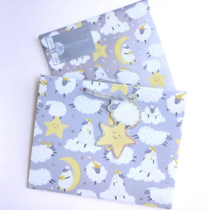 Wrapping Paper- Counting Sheep  F315