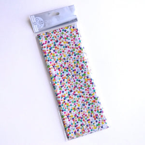 Tissue Paper- Party Popper on White