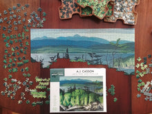 Load image into Gallery viewer, Pomegranate Jigsaw Puzzle- A.J. Casson: Jack Pine and Poplar  AA849