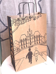 Tintin Paper Gift Bag- Marlinspike Large. TIN04240