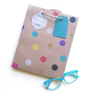 Party Dot Medium Gift Bag MK2202