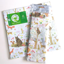 Load image into Gallery viewer, Wrapping Paper- Fairytale Forest