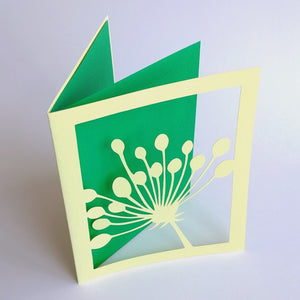 Hand-cut Card by Mono Ahn