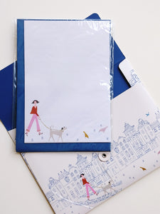 Roger La Borde Stationery Folio- Walk This Way