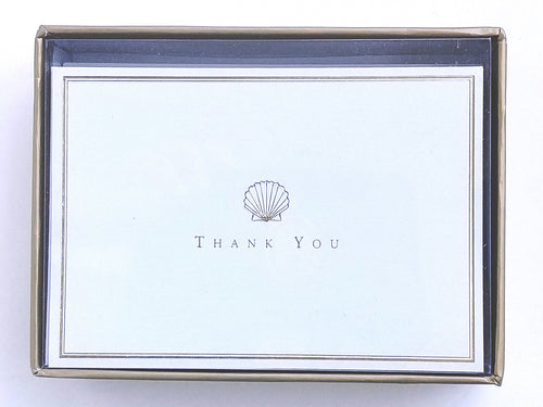 Scallop Shell Thank You Notes    #3850