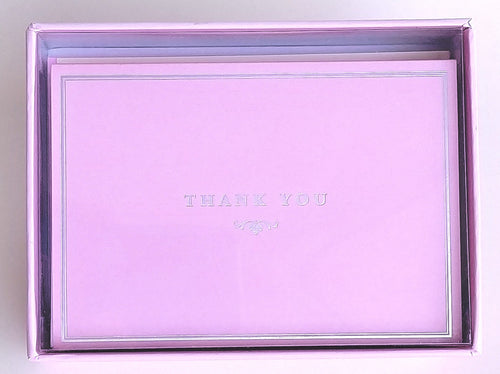 Pink Elegance Thank You Notes    #1725