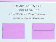 Load image into Gallery viewer, Pink Elegance Thank You Notes    #1725