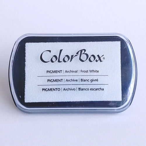 ColorBox Pigment Stamping Pad- Frost White  #15080