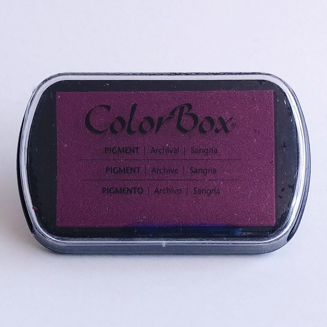 ColorBox Pigment Stamping Pad- Sangria
