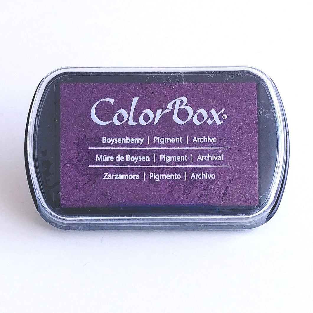 ColorBox Pigment Stamping Pad- Boysenberry