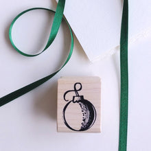 Load image into Gallery viewer, Ornament Small Rubber Stamp