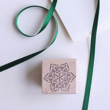 Load image into Gallery viewer, Snowflake Rubber Stamp