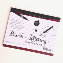 Load image into Gallery viewer, Brush Lettering Practice Paper  #9080