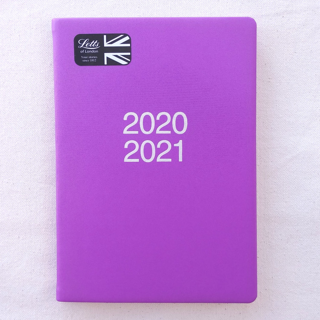Letts Academic Calendar 2020/2021- Purple Dazzle    #C031116