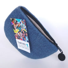 Load image into Gallery viewer, Fair Trade Felted Wool Purse- Canoe  VCLP-1