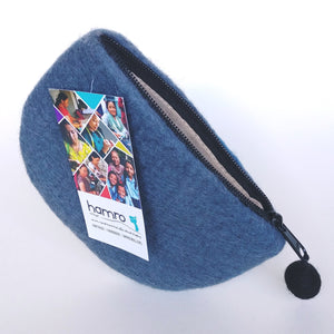 Fair Trade Felted Wool Purse- Canoe  VCLP-1