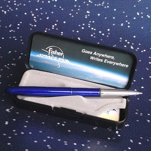 Fisher Bullet Pen- Lacquer Blueberry