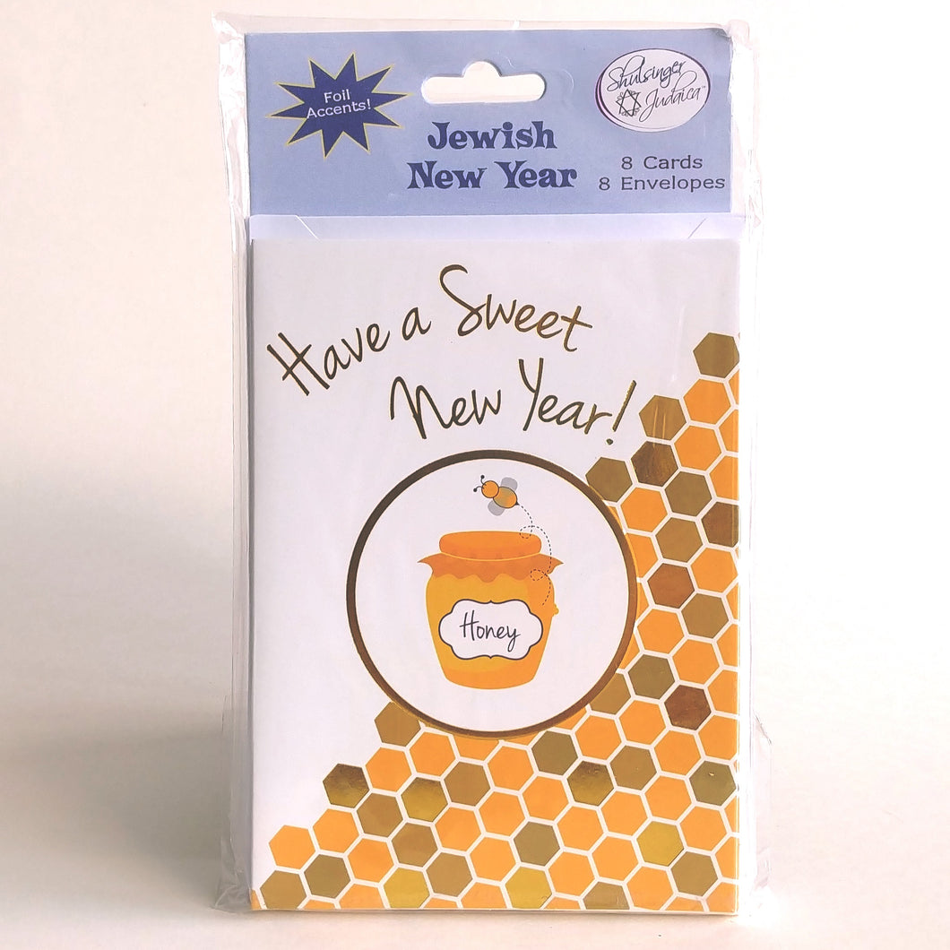 Rosh Hashanah Cards- Have A Sweet New Year! JP5221
