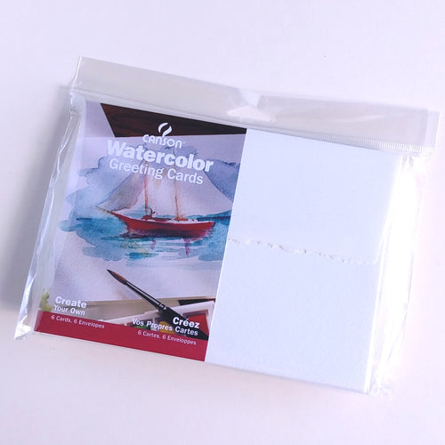 Canson Watercolour Cards   #11541