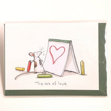 Load image into Gallery viewer, Two Bad Mice Card: The Art of Love   #M297