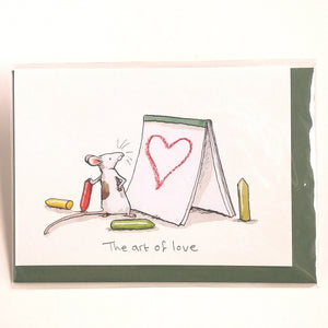 Two Bad Mice Card: The Art of Love   #M297