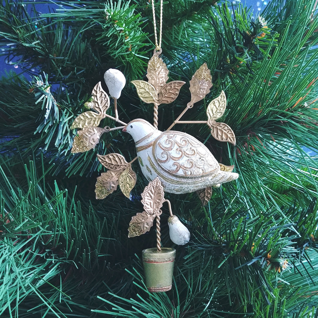 Partridge in a Pear Tree Ornament  G79255