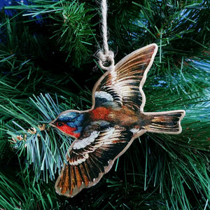 Metal Ornament: Bird in Flight  #3010279
