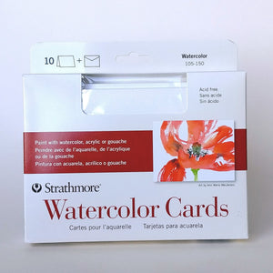Strathmore Watercolour Cards  #105-150