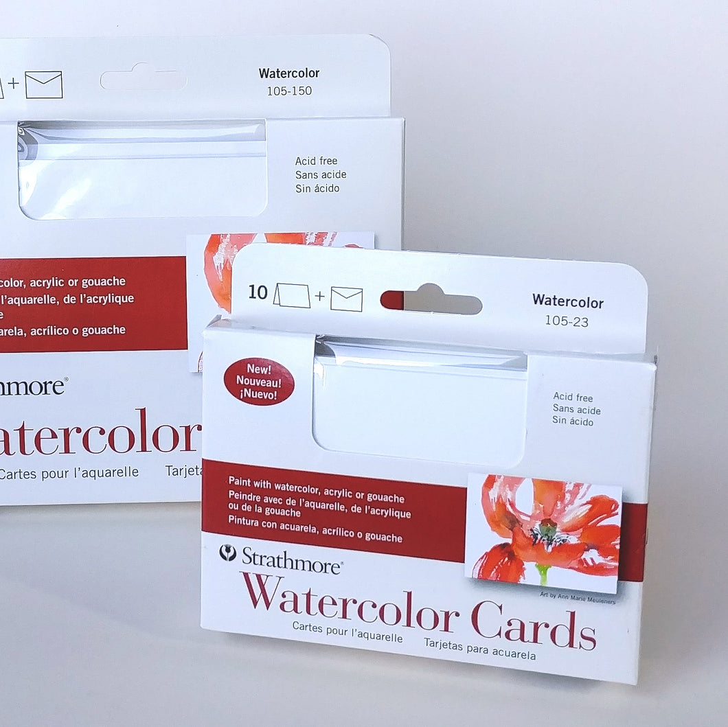 Strathmore Watercolour Cards- RSVP  #105-23