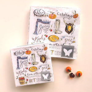 Fall Favourites Luncheon and Beverage Napkins C/L832400
