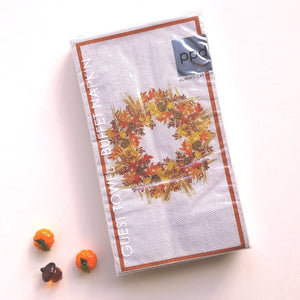 Harvest Wreath Guest Towels   #3413509