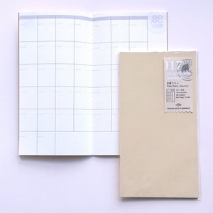 TN Refill Free Diary, Monthly 017  #14317-006