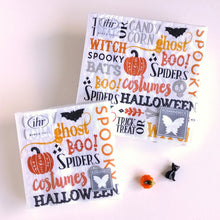 Load image into Gallery viewer, Hallowe'en Words Napkins C/L028500