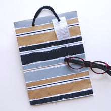 Load image into Gallery viewer, Vivid Cotton Medium Gift Bag- Dramatic Stripes  V35750