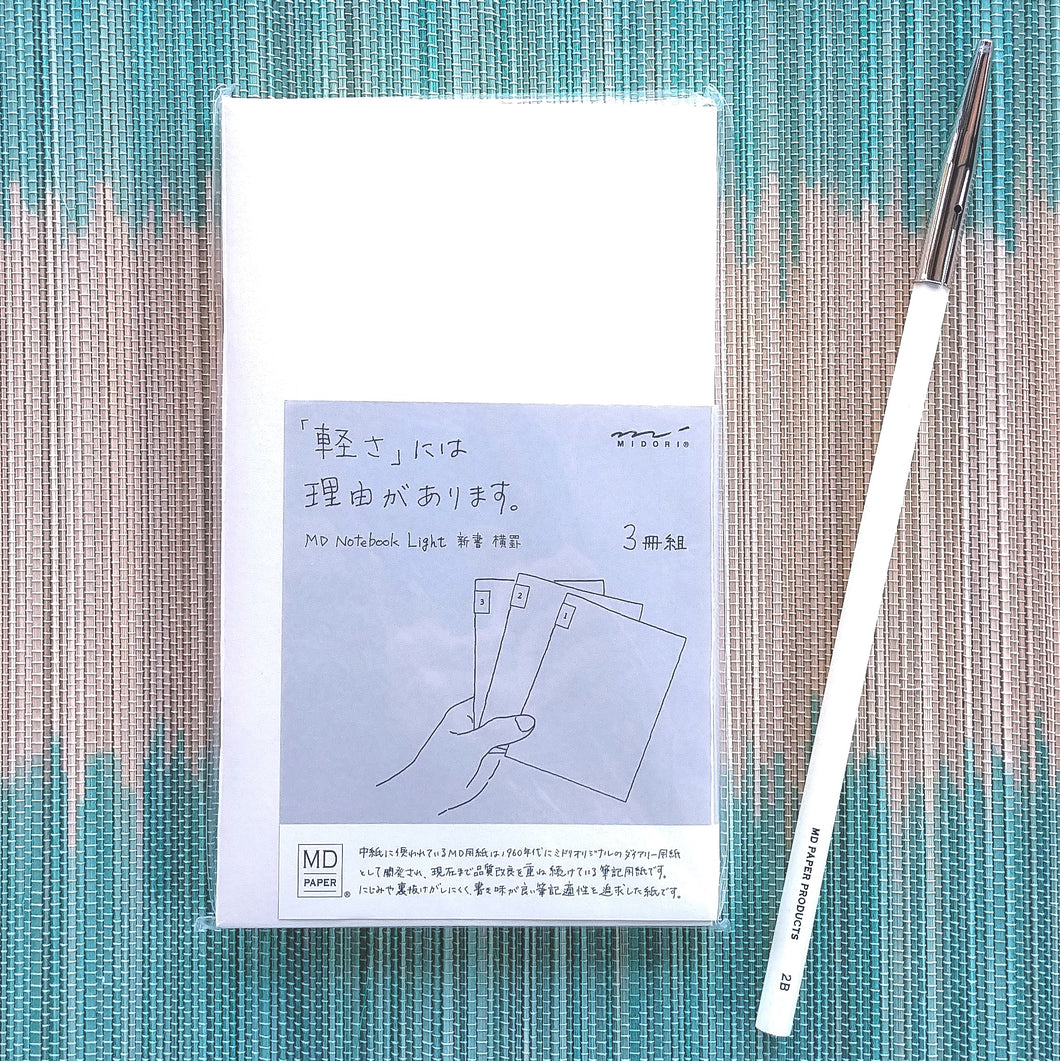 Midori MD Notebook B6 Trio- Lined  #15210-006