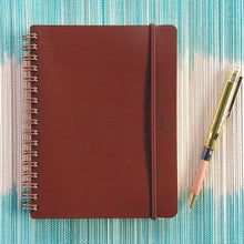 Load image into Gallery viewer, Midori World Meister Grain Notebook- Brown  #15223-006