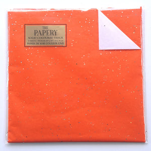 Tissue Paper- Gemstone Orange  #1008-2
