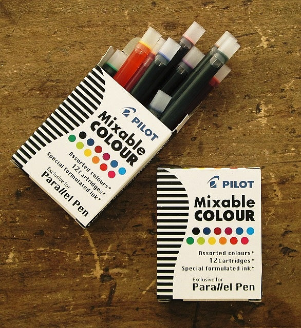Pilot Mixable Colour Ink Cartridges