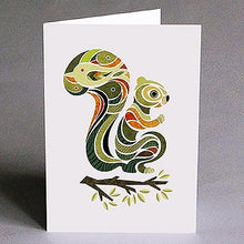 Load image into Gallery viewer, Nunamar Blank Card- Eliot the Squirrel  #40-104