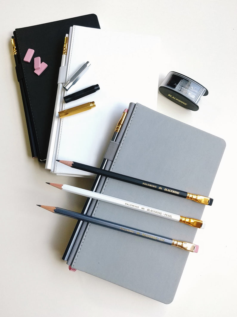 Blackwing Slate Notebook- Grey with dot grid pages
