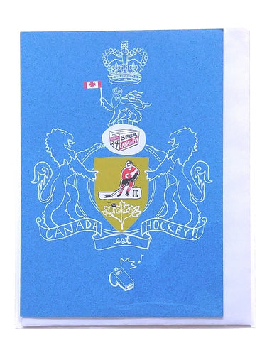 Canadian Heroes- Hockey Coat of Arms   #263