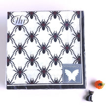 Load image into Gallery viewer, Black Spiders Napkins C/L800100