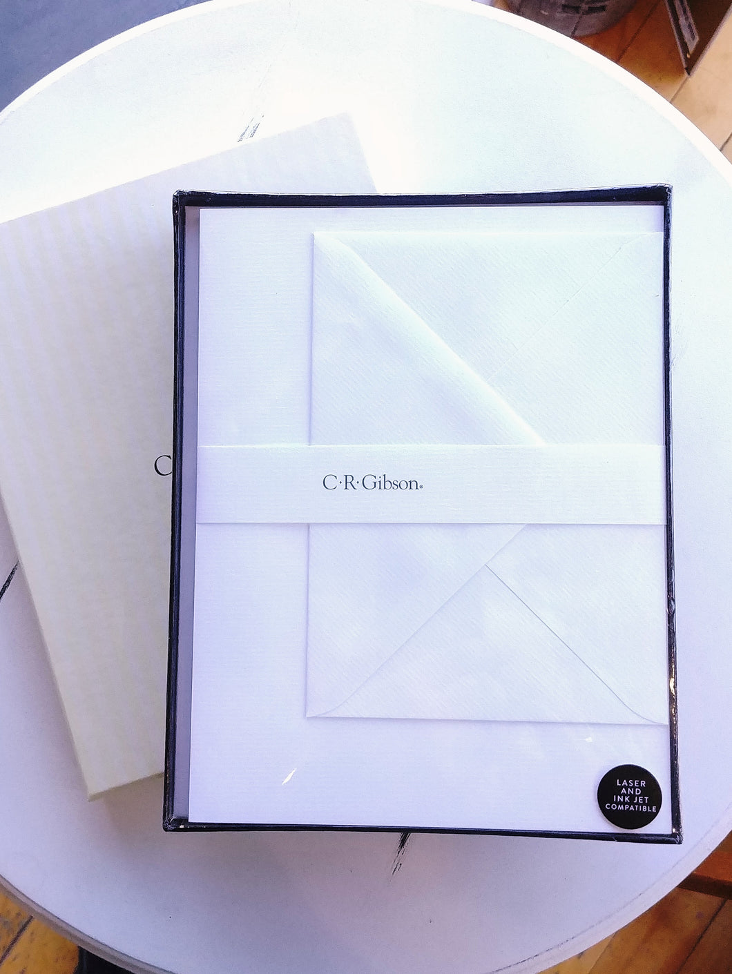 Classic White Boxed Stationery