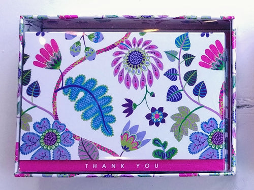 Fantasy Floral Thank You Notes   #2349