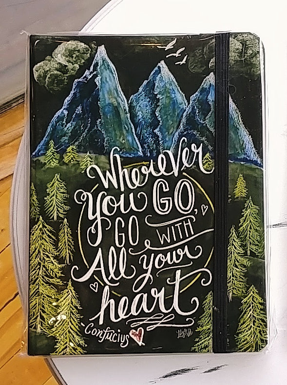 Wherever You Go Lined Journal
