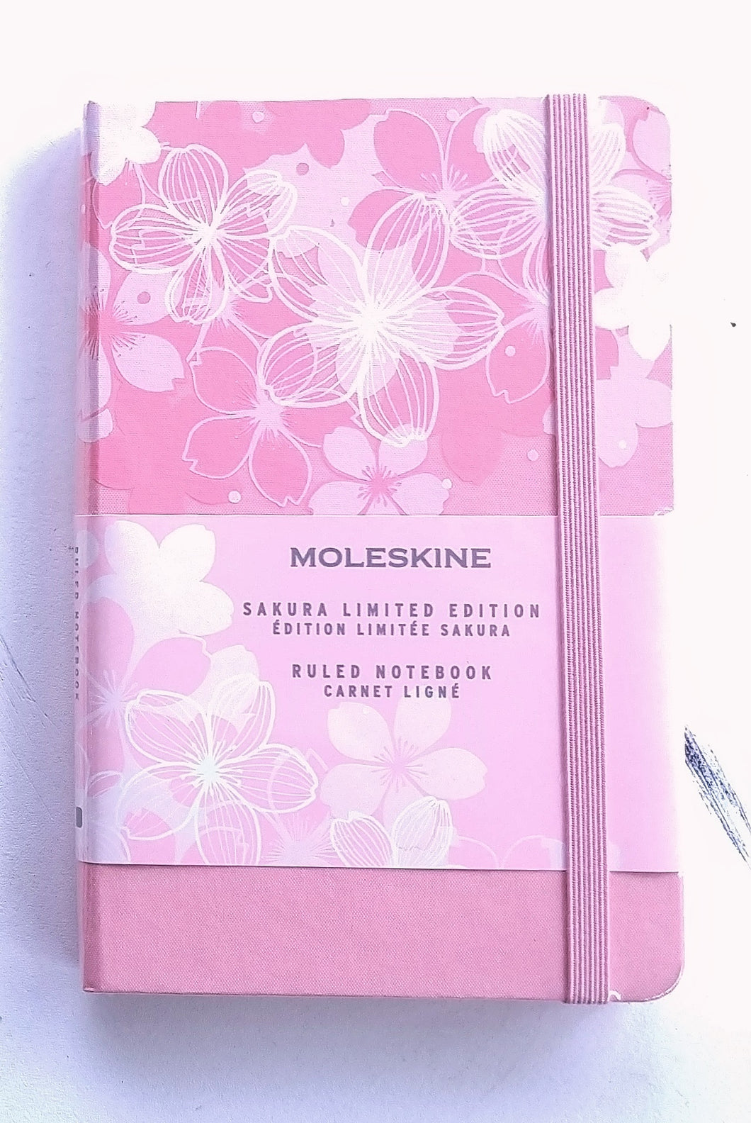 Moleskine Pocket Notebook- Sakura Dark Pink Lined