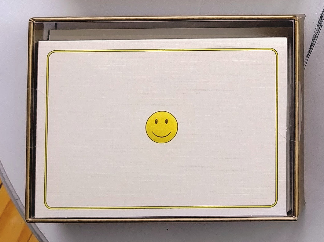 Smiley Face Note Cards